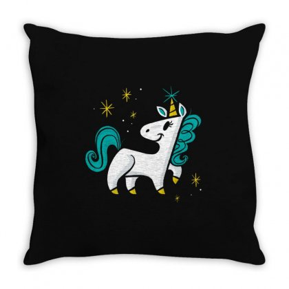 Be Magical Throw Pillow Designed By Creative Tees