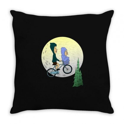 Beavis And Butehead Throw Pillow Designed By Creative Tees