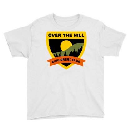 Over The Hill Explorers Youth Tee Designed By Milaart