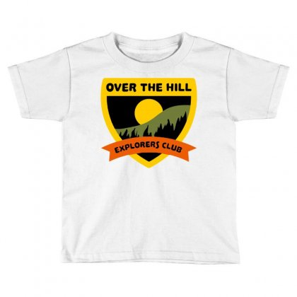 Over The Hill Explorers Toddler T-shirt Designed By Milaart