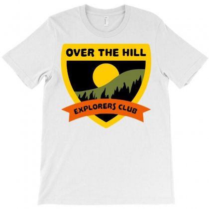 Over The Hill Explorers T-shirt Designed By Milaart