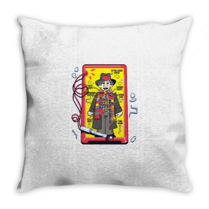 Paging Dr. Who Throw Pillow Designed By Milaart
