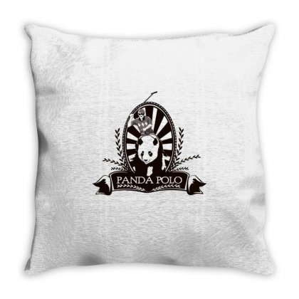 Panda Polo Throw Pillow Designed By Milaart
