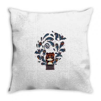 Pandora's Box Throw Pillow Designed By Milaart