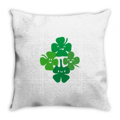 Patrick's Pi Throw Pillow Designed By Milaart