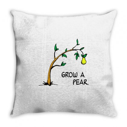 Pear Propagation Throw Pillow Designed By Milaart