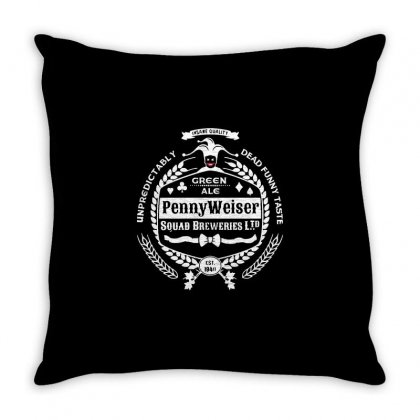 Pennyweiser   Squad Breweries Throw Pillow Designed By Milaart