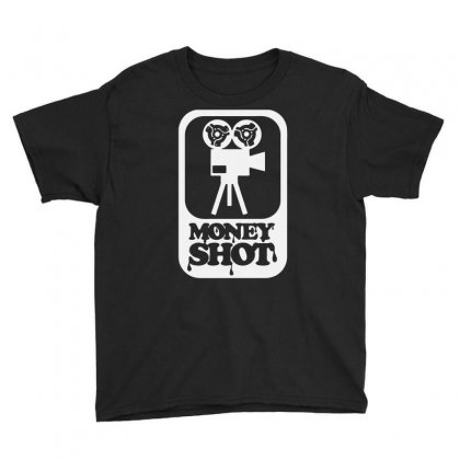 Money Shot Funny Youth Tee Designed By Erryshop