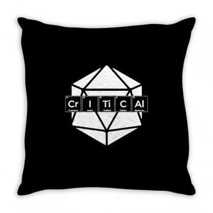 Periodically Critical Throw Pillow Designed By Milaart