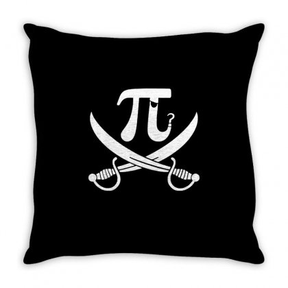 Pi Racy Throw Pillow Designed By Milaart