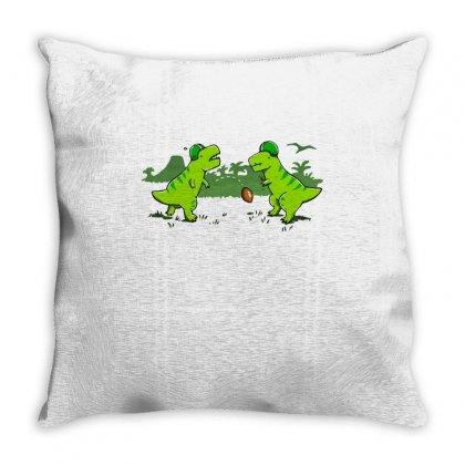 Pick Up Game Throw Pillow Designed By Milaart