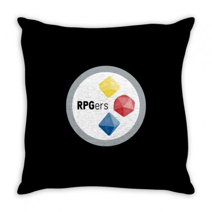 Pittsburgh Rpgers Throw Pillow Designed By Milaart