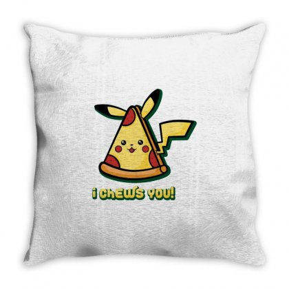 Pizzachu Throw Pillow Designed By Milaart