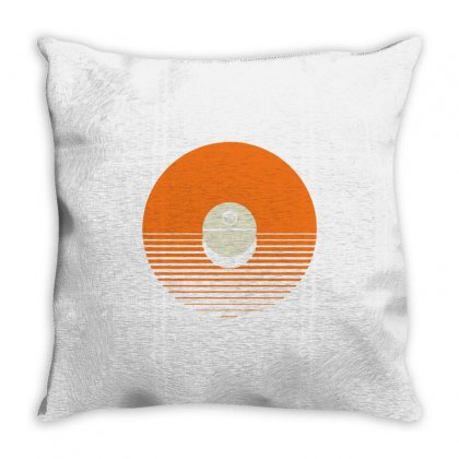 Planet Killer Throw Pillow Designed By Milaart