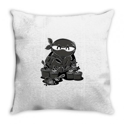 Planting Throw Pillow Designed By Milaart