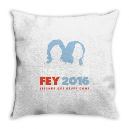 Poehler Fey 2016 Throw Pillow Designed By Milaart