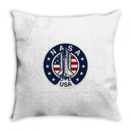 Nasa Throw Pillow Designed By Disgus_thing