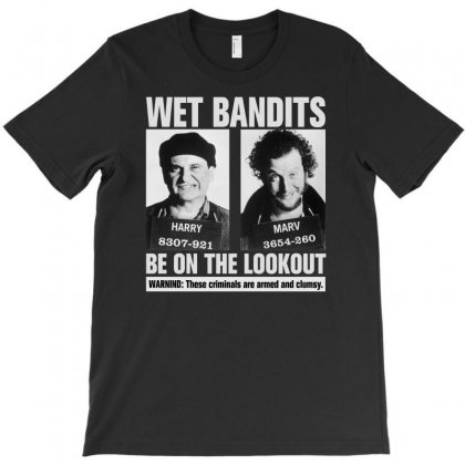 Wet Bandits Home Alone For Dark T-shirt Designed By Gurkan