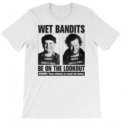 Wet Bandits Home Alone For Light T-shirt Designed By Gurkan