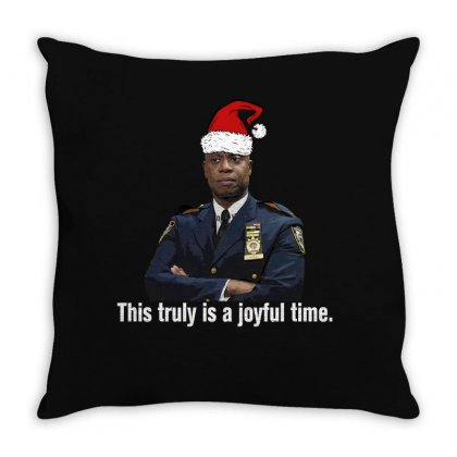 This Truly Is A Joyful Time For Dark Throw Pillow Designed By Sengul