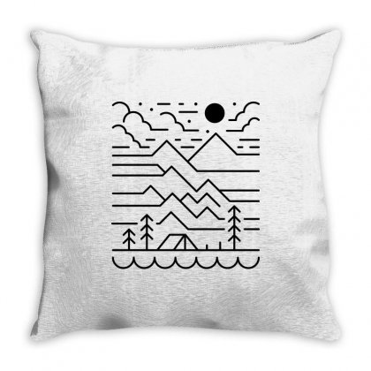 Back To Nature (for Light) Throw Pillow Designed By Quilimo