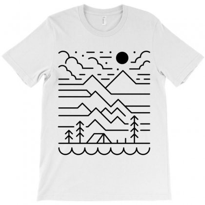 Back To Nature (for Light) T-shirt Designed By Quilimo