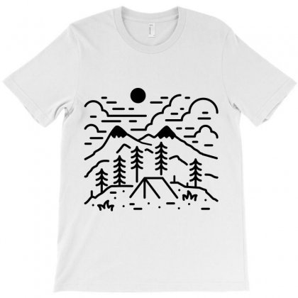 Let's Get Lost (for Light) T-shirt Designed By Quilimo