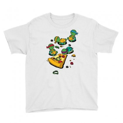 Pizza Lover Youth Tee Designed By Blackheart