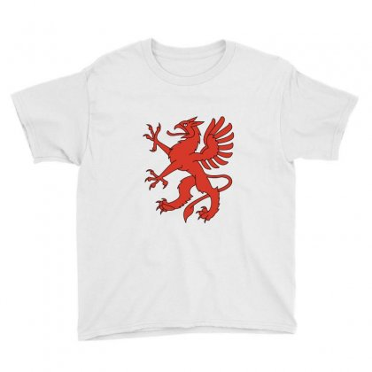 Red Dragon Youth Tee Designed By Zein