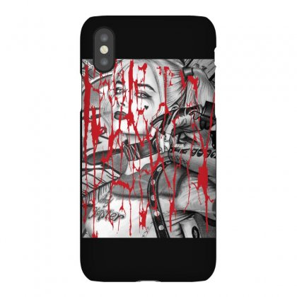 Harley Queen Iphonex Case Designed By Bluebubble