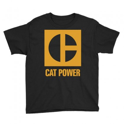 Cat Power Youth Tee Designed By Giziara