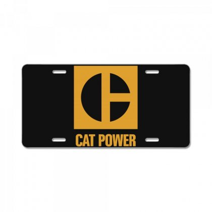 Cat Power License Plate Designed By Giziara