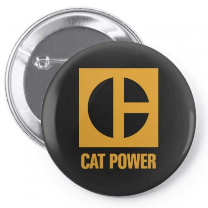 Cat Power Pin-back Button Designed By Giziara