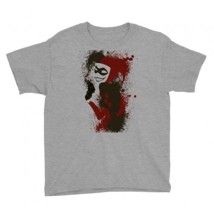 Harley Queen Youth Tee Designed By Bluebubble