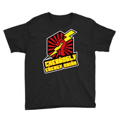 Chernobly Energy Drink Youth Tee Designed By Giziara