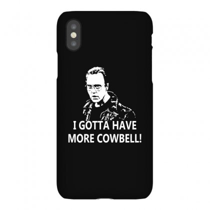 I Gotta Have More Cowbell Iphonex Case Designed By Giziara
