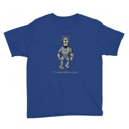 Cyber Bender Youth Tee Designed By Sr88