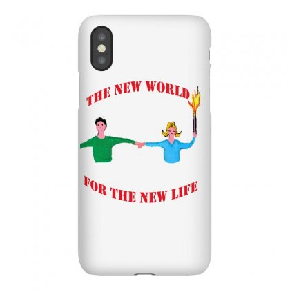 The New World Iphonex Case Designed By Nad