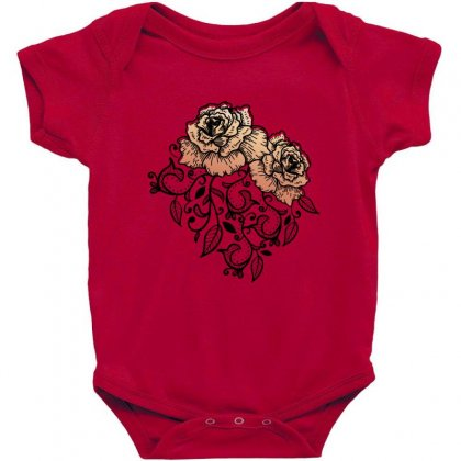 Paisley Baby Bodysuit Designed By D'metra