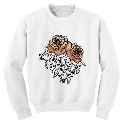 Paisley Youth Sweatshirt Designed By D'metra