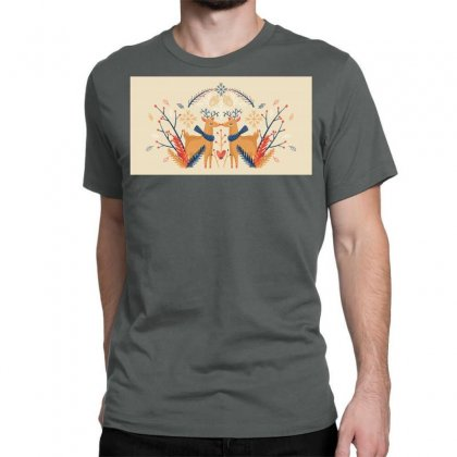 Reindeers Classic T-shirt Designed By D'metra