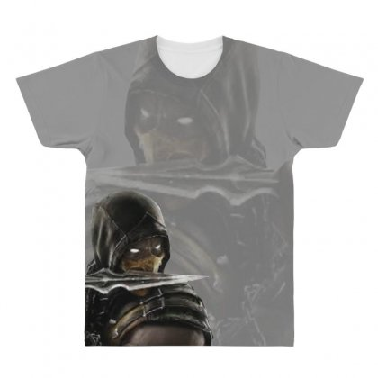Assasin All Over Men's T-shirt Designed By Xprime