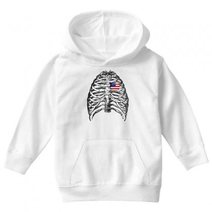 X-ray Youth Hoodie Designed By Ran Studio
