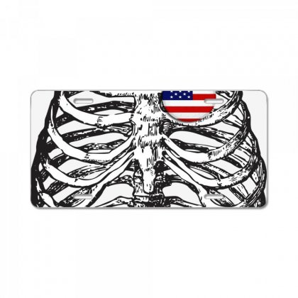 X-ray License Plate Designed By Ran Studio
