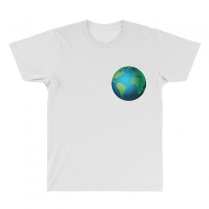 Earth All Over Men's T-shirt Designed By Bluemary