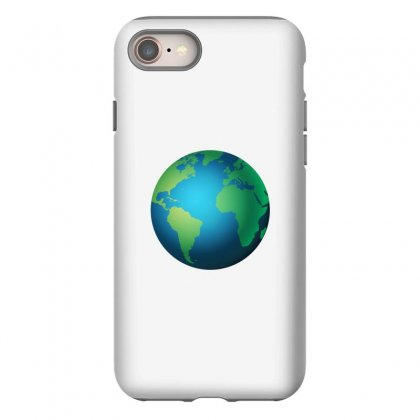 Earth Iphone 8 Case Designed By Bluemary