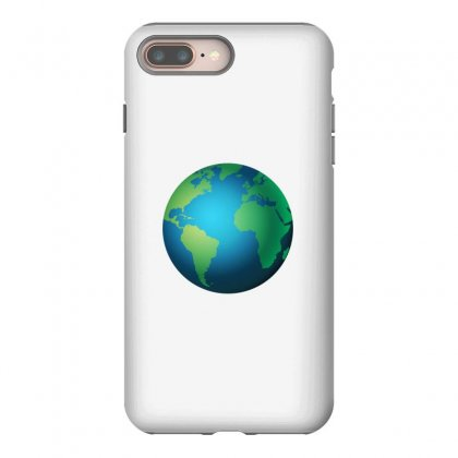 Earth Iphone 8 Plus Case Designed By Bluemary