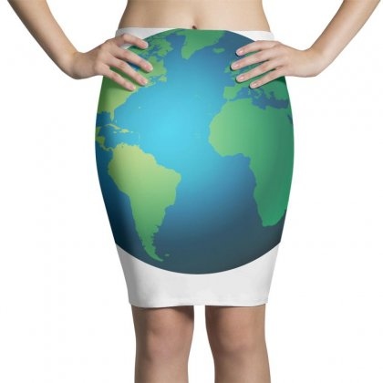 Earth Pencil Skirts Designed By Bluemary