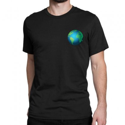 Earth Classic T-shirt Designed By Bluemary