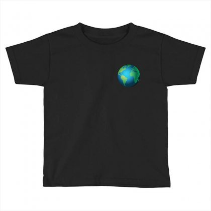 Earth Toddler T-shirt Designed By Bluemary